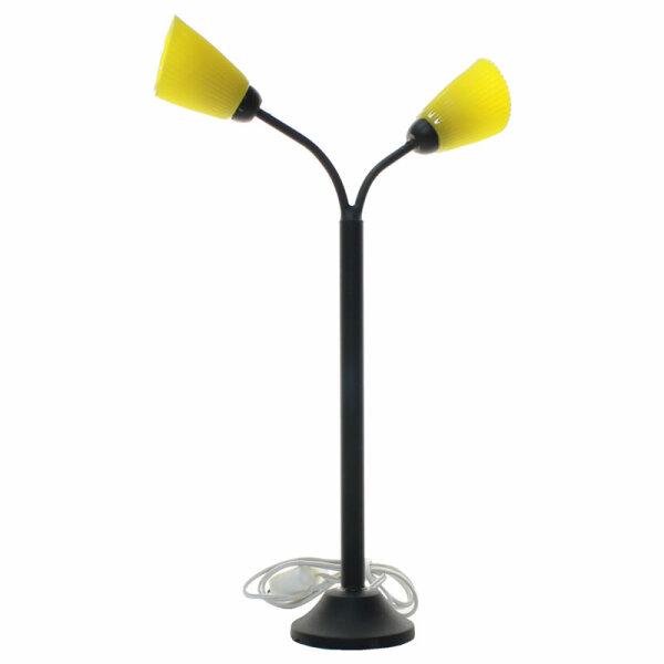 Stehlampe 2 Flammig Schwarz Gelb Puppenhaus Welt De