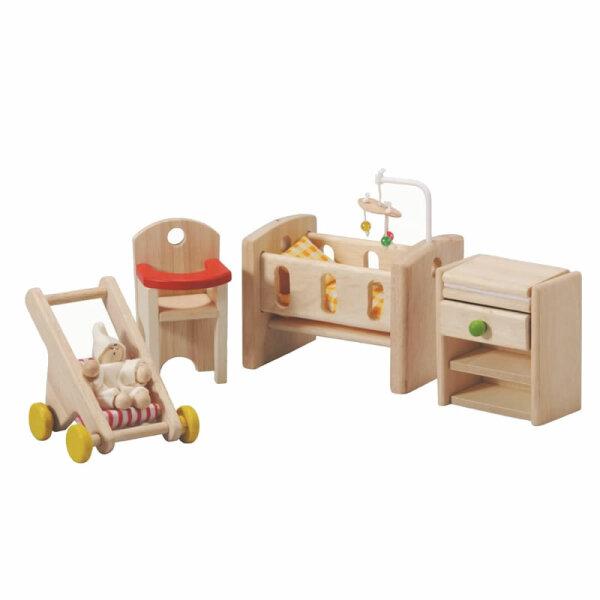 PLANTOYS Puppenhausmöbel   Babyzimmer
