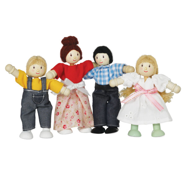 LE TOY VAN Puppenhausfamilie - My Family of 4